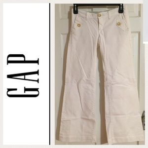 GAP Ltd. Ed. White Flare Jeans.  Size 27/4